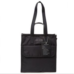 Marc Jacobs Retake Nylon Tote Bag - Black
